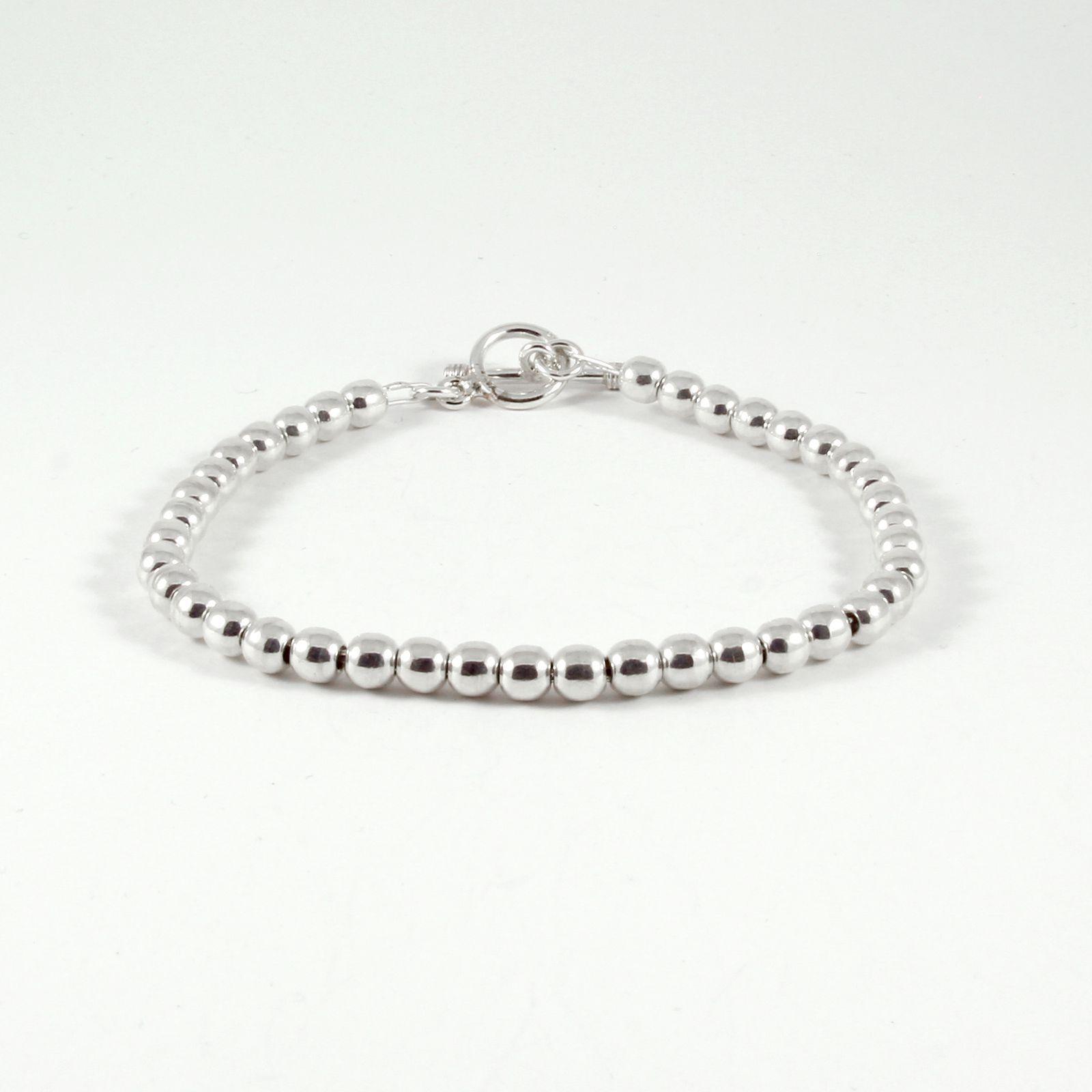 bracelet argent massif perles veracruz la mine d 39 argent