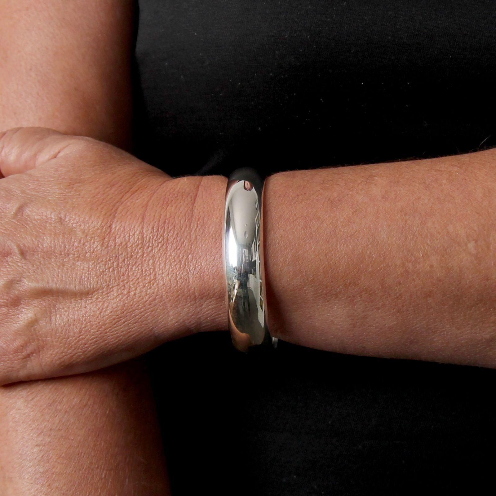bracelet jonc argent massif guadalajara la mine d 39 argent. Black Bedroom Furniture Sets. Home Design Ideas