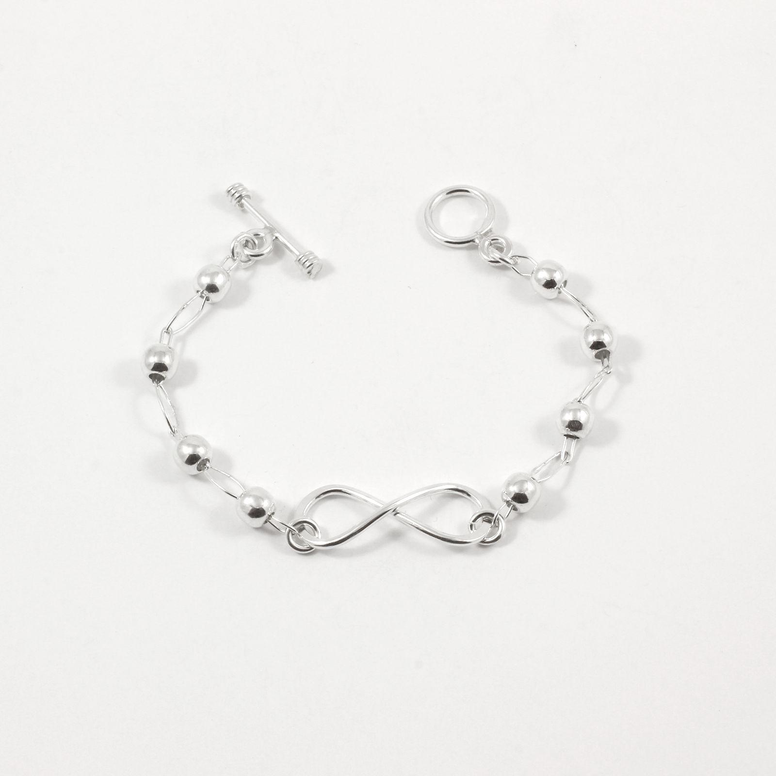 bracelet argent massif perles banderilla la mine d 39 argent. Black Bedroom Furniture Sets. Home Design Ideas